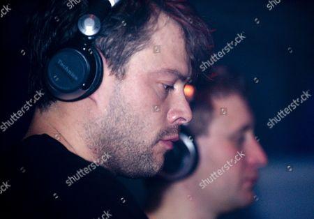 Stock Photo of Plump DJs - Lee Rous and Andy Gardner, Edinburgh