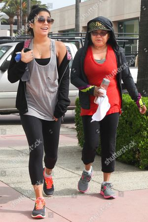 Vanessa Hudgens and mother Gina Guangco