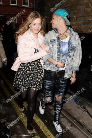 Vince Kidd and Becky Hill