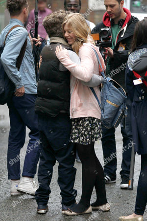 Editorial picture of 'The Voice' finalists from Team Jessie arrive at the 100 Club, London, Britain  - 10 May 2012