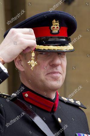 Stock Picture of Colonel Gareth Bex, OBE