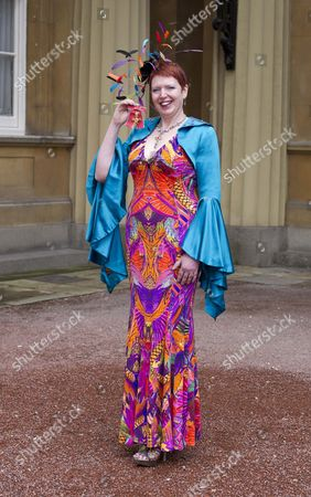 Stock Picture of Melanie Bryan, Founder of WhyNotChange for services to Social Enterprise with her OBE