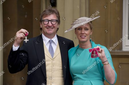 Editorial image of Investitures at Buckingham Palace, London, Britain - 10 May 2012
