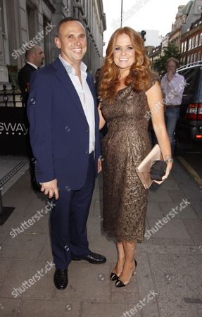 Richard Merkell and Patsy Palmer