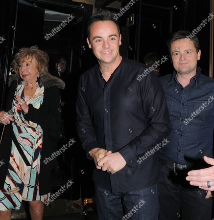 Julie Cowell, Anthony McPartlin, Declan Donnelly