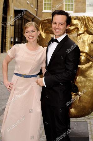 Eva Birthistle and Andrew Scott