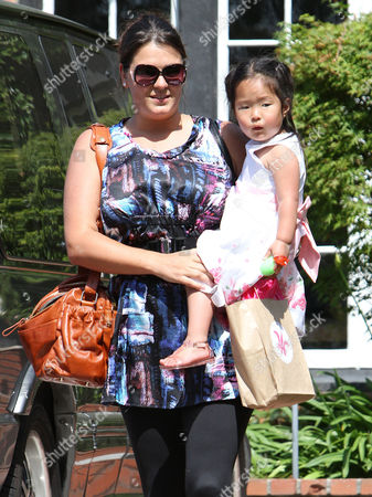 Naleigh Heigl with her nanny