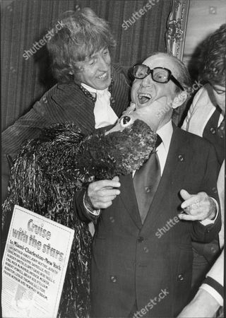 Rod Hull (dead March 1999) And Emu With Arthur Askey