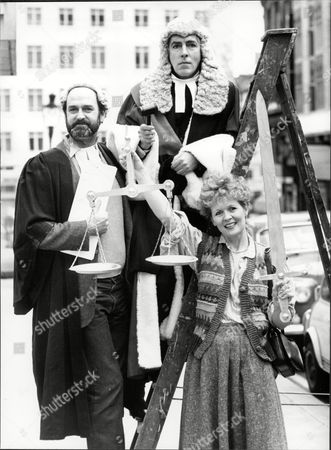 Theatrical Plays An Evening In Court Starring John Cleese And Peter Cook Which Is A One Performance At The Dury Lane Theatre To Raise Funds For The Adrian Slade Legal Costs Appeal