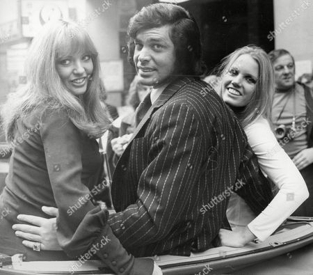 Engelbert Humperdinck With New Generation Dancers Denise Fone And Terry Robinson. He Is To Star In A New 13 Week Show For The Bbc.