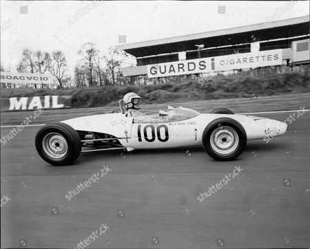 Engelbert Humperdinck Pictured Doing Two Laps In A Formula Ford At Brands Hatch Kent