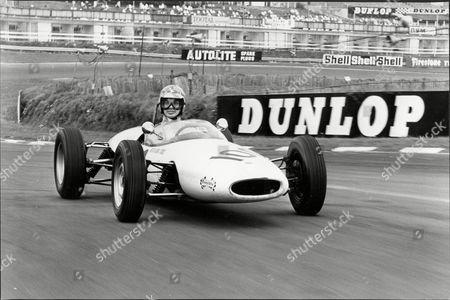 Engelbert Humperdinck Driving A Formula Ford At Brands Hatch