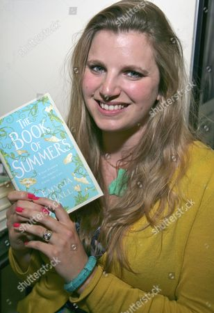 Editorial image of Emilya Hall at Waterstones Cribbs Causeway to promote her book 'The Book of Summers', Bristol, Britain - 13 May 2012