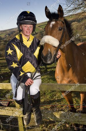 Editorial picture of Jockey Jess Westwood at home in Exford, Somerset, Britain - 07 Mar 2012