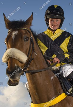 Editorial image of Jockey Jess Westwood at home in Exford, Somerset, Britain - 07 Mar 2012