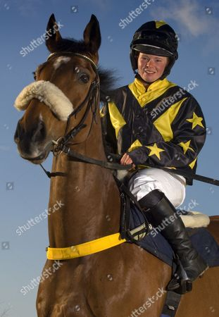 Stock Photo of Jess Westwood with her horse 'Monkerty Tunkerty'