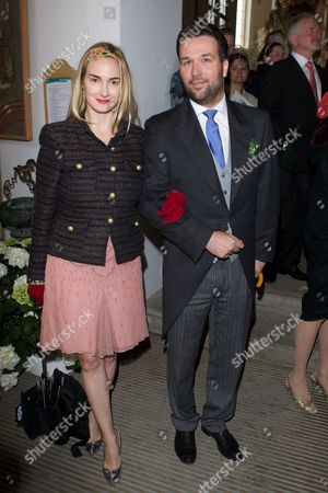 Princess Maria-Theresia of Thurn und Taxis and Prince Philipp of Thurn und Taxis