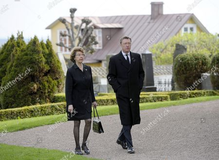 Editorial image of The funeral of Carl Johan Bernadotte, Bastad, Sweden - 14 May 2012