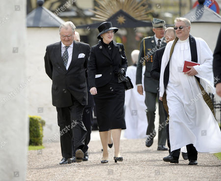 Editorial picture of The funeral of Carl Johan Bernadotte, Bastad, Sweden - 14 May 2012