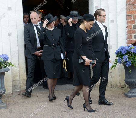 Stock Photo of Crown Princess Victoria and Prince Daniel