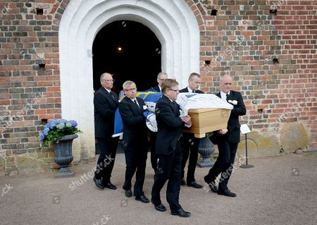 Stock Picture of The coffin of Count Carl Johan Bernadotte
