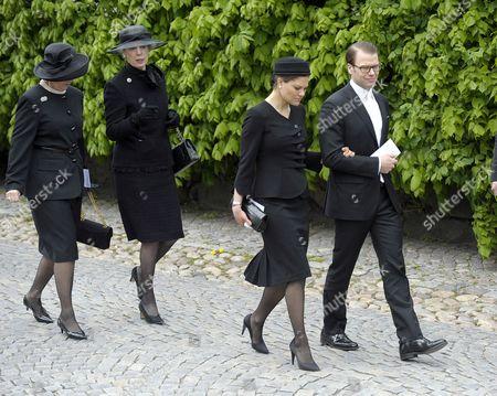 Queen Anne-Marie, Princess Benedikte of Denmark, Crown Princess Victoria and Prince Daniel