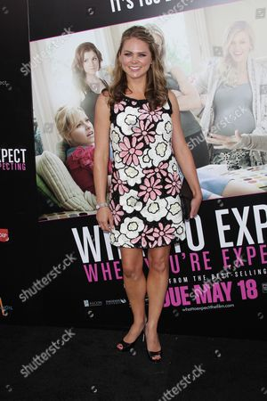 Editorial photo of 'What To Expect When You're Expecting' Film Premiere, Los Angeles, America - 14 May 2012