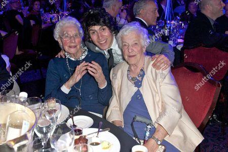 Betty Smith, Luke Evans and Beryl Renwick