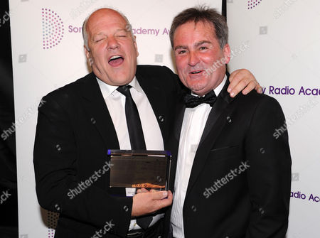 Andy Gray and Richard Keys with award for best sports programme
