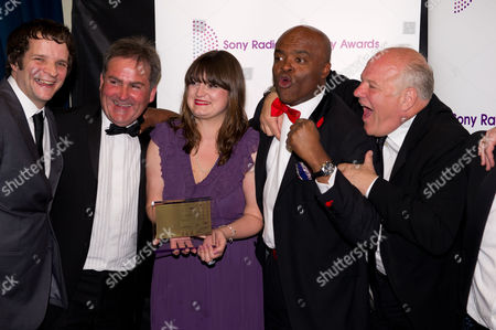 Editorial picture of Sony Radio Academy Awards, Grosvenor Hotel, London, Britain - 14 May 2012