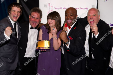 Guests with Andy Gray, Richard Keys and Kriss Akabusi