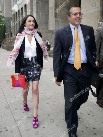Editorial picture of Renata Shamrakova at Court, New York, America - 14 May 2012
