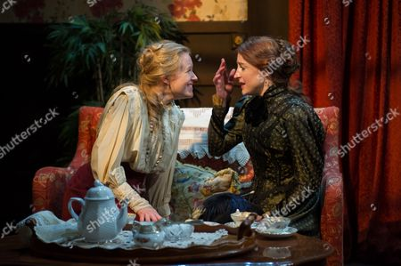 'In the Next Room' - Katie Lightfoot (Catherine Givings) and Flora Montgomery (Sabrina Daldry).