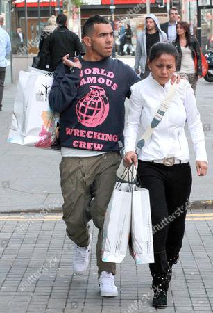 Carlos Tevez and wife Vanesa Mansilla