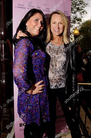 Zoe Tyler and Carol McGiffin