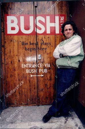 Dominic Dromgoole Artistic Director Outside The Bush Theatre At Shepherd's Bush London