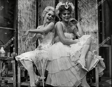 Theatrical Plays Lock Up Your Daughters Hy Hazell As Mrs Squeezum And Sally Smith As Hilaret Pictured At The Theatre