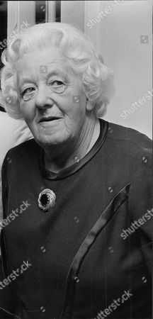 Margaret Rutherford (dead May 1972) Actress