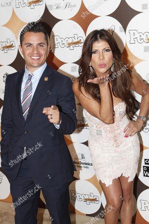 Karim Mendiburu and Mirella Grisales