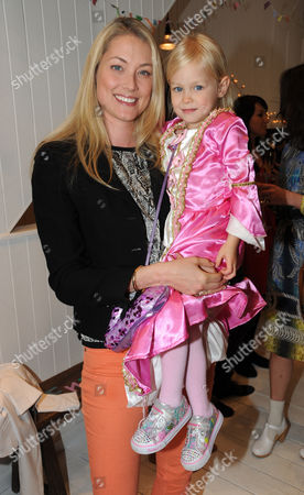 Editorial image of 'Caramel Baby and Child' tea party in aid of the Naked Heart Foundation, London, Britain - 16 May 2012