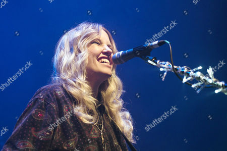 Editorial image of Ladyhawke in concert at the O2 Shepherd's Bush Empire, London, Britain - 11 May 2012