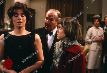 Cyd Hayman as Cressy Grace, Raymond Francis as Major Hawkes and Petra Markham as Emma Grace