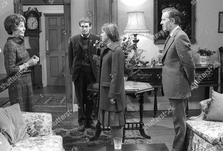 Faith Brook as Esme Grace, Paul Copley as Dan, Petra Markham as Emma Grace and John Carson as Felix King