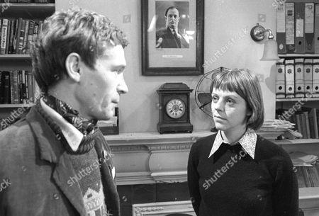 Stock Image of Paul Copley as Dan and Petra Markham as Emma Grace