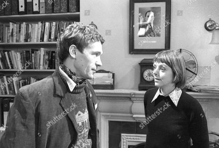 Stock Picture of Paul Copley as Dan and Petra Markham as Emma Grace