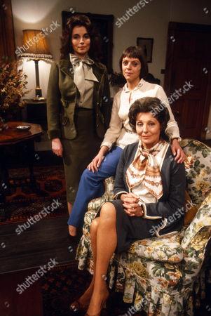 Cyd Hayman as Cressy Grace, Petra Markham as Emma Grace and Faith Brook as Esme Grace