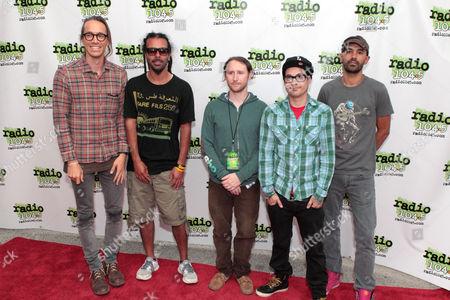Incubus - Brandon Boyd, Chris Kilmore, Mike Einziger, Jose Pasillas and Ben Kenney