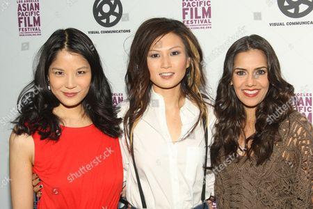 Lynn Chen, Michelle Krusiec and Sheetal Sheth