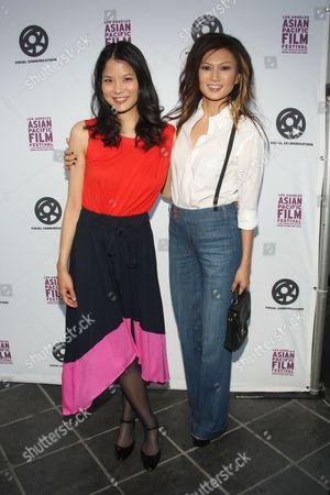 Lynn Chen and Michelle Krusiec