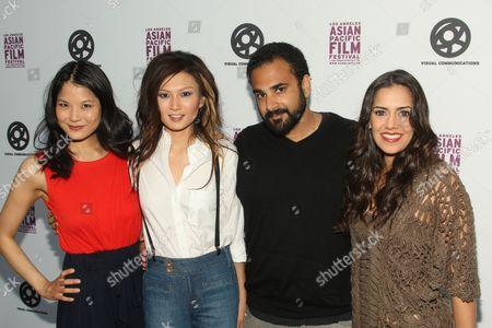 Lynn Chen, Michelle Krusiec, Tanuj Chopra and Sheetal Sheth